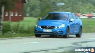 2013 Volvo S60 T6 R-Design Polestar AWD Test Drive & European Sports Sedan Car Video Review