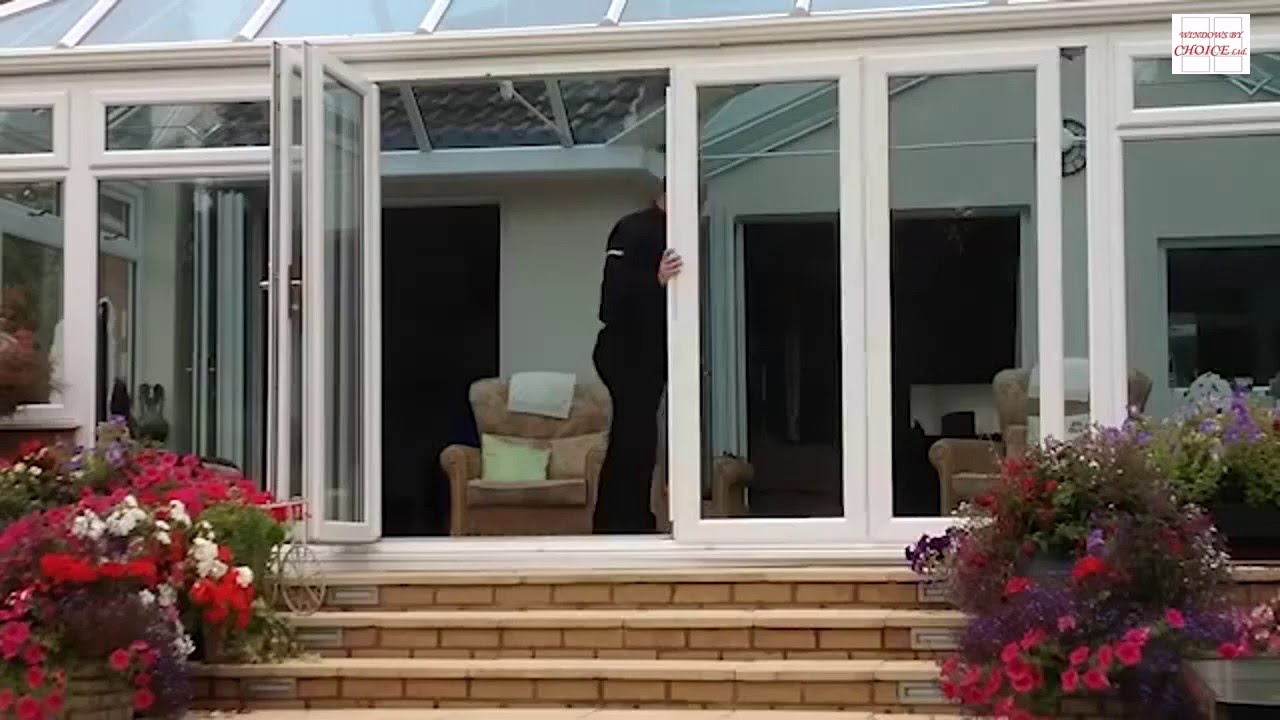 New Wave Doors The Fantastic Upvc Slide And Fold Patio Door System