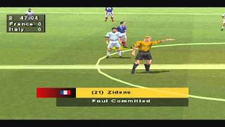 France-Italy 2-1 (Fifa Road to World Cup 98 PSX)