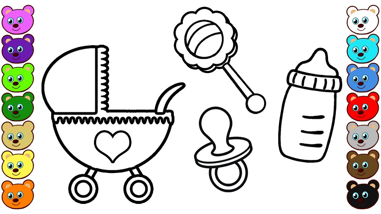 Coloring Book For Toddlers - YouTube