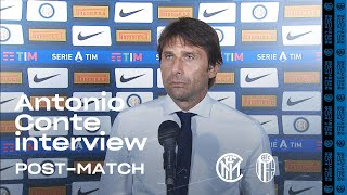 "INTER 1-2 BOLOGNA | ANTONIO CONTE EXCLUSIVE INTERVIEW: ""I'm hugely disappointed"" [SUB ENG]"