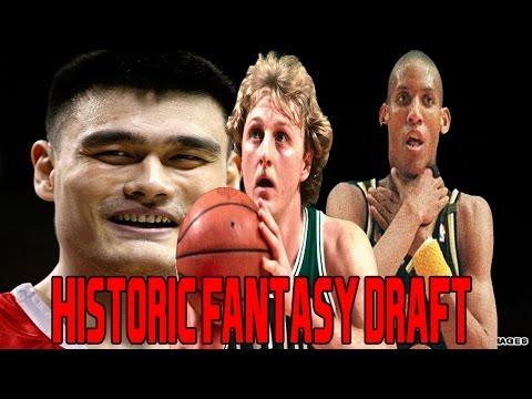NBA 2K16 Historic Fantasy Draft | Yao Ming, Larry Bird, & Reggie Miller