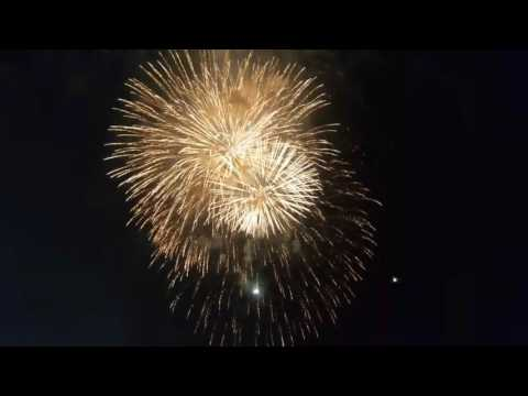 Dayton, Ohio 4th of July Lights in Flight Fireworks Festival 2017. Part 1