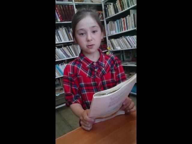 Изображение предпросмотра прочтения – РозалияФаляхова читает произведение «Ласточки пропали...» А.А.Фета