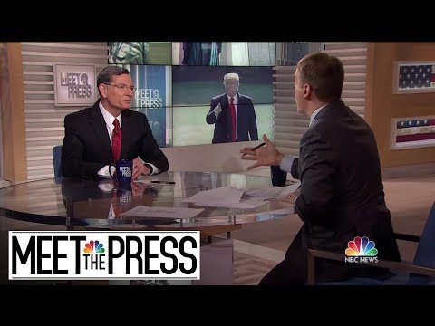 Full Barrasso: 'Not Surprising' That Trump Kept Business Going During Election | Meet The Press