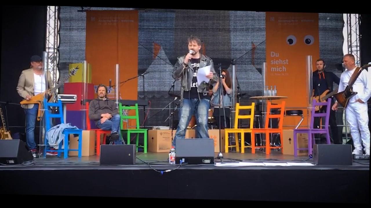 Sanity – Rede beim Kirchentag Berlin 2017
