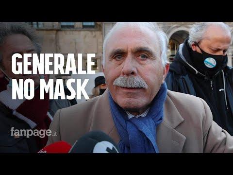 """Milano, il ritorno flop dell'ex generale Pappalardo: """"Hanno bruciato i morti per imbrogliarci"""""""