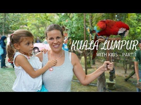 Kuala Lumpur With Kids in 4K - Travel Vlog Part 1