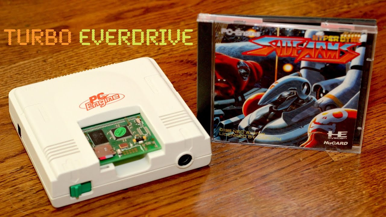 Turbo Everdrive Flashcart for the Turbografx-16 and PC Engine