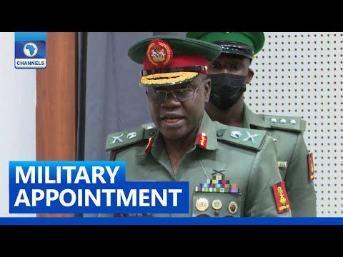I Have First-Hand Experience In War, I Can Tackle Nigeria's Insecurity - COAS