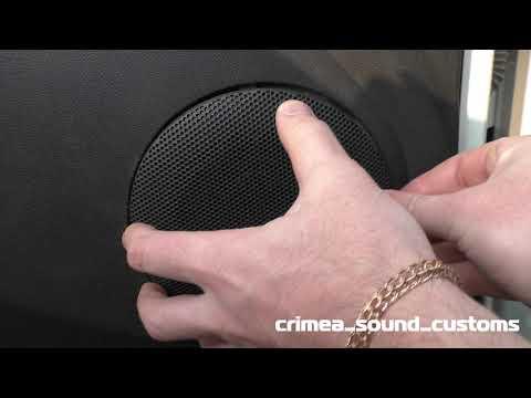 Установка штатной акустики в лада ларгус Dl Audio Gryphon Lite 130