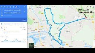 38 km, 360°-Video,  Bahntrasse Kranenburg, Groesbeek, Plasmolen