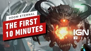 The First 10 Minutes of DOOM Eternal (4K/60fps) - IGN First