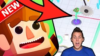 SMILE Inc | NEW ROMAN ATWOOD Prank Runner Game!! | Running Mobile Game On IOS/Android!!