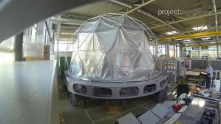 DomeLab: Portable Immersive 3D Stereo Fulldome Projection System