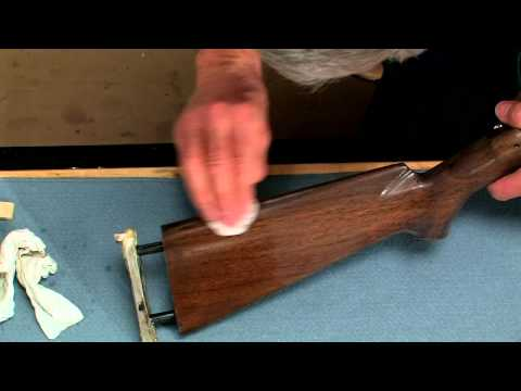 gunsmithing---how-to-polish-the-finish-on-a-riflestock-presented-by-larry-potterfield-of-midwayusa