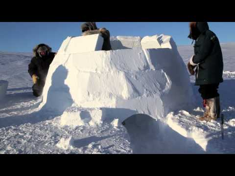 La costruzione di un igloo