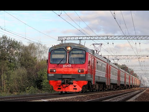 Trainz 12 ЭД4М-0310 Рейс:  Москва-Курская - Захарово