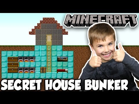 BUILDING A PRO SECRET HOUSE BASE in MINECRAFT! thumbnail