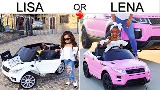 LISA OR LENA 💖 Cute & Lovely. Pinkazina