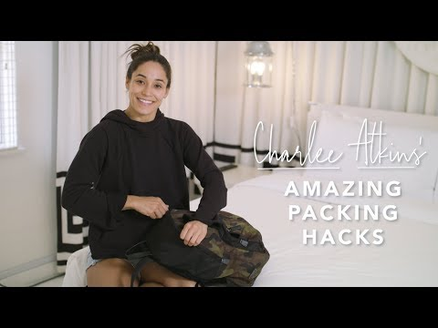 How to pack for a retreat, with NYC trainer Charlee Atkins
