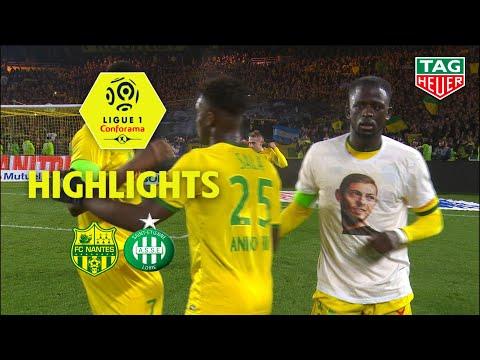 FC Nantes - AS Saint-Etienne ( 1-1 ) - Highlights - (FCN - ASSE) / 2018-19