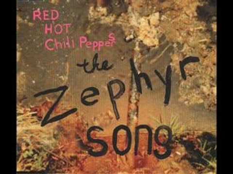 Red hot chili peppers_The Zephyr song...karaoke