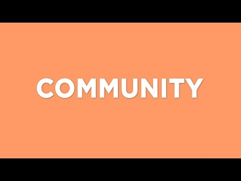 Global Values: COMMUNITY