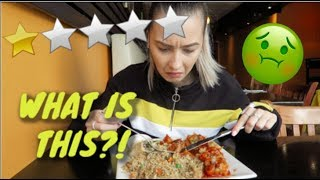 Eating at the WORST RATED *RESTAURANT* in my City! (TORONTO)