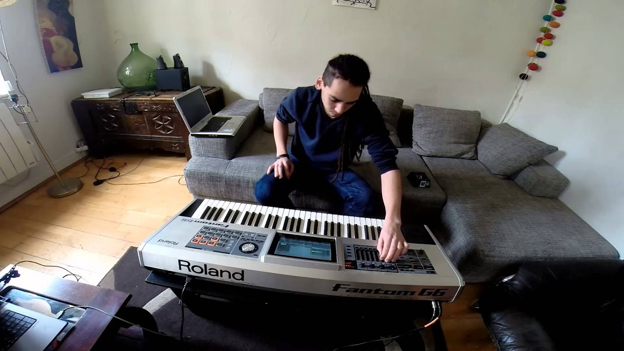 Roland Fantom G Live trance Progressive By Lanimal #1