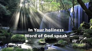 Word Of God Speak (lyrics) Mercy Me
