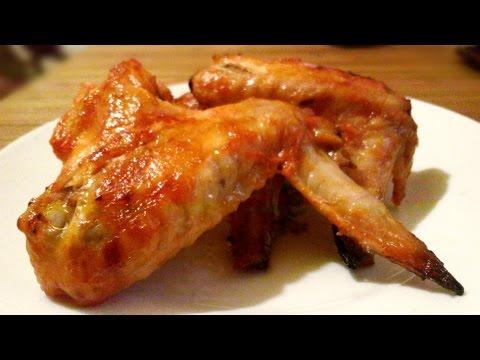 Хрустящие куриные крылышки в духовке маринованные с майонезом и кетчупом рецепт приготовления