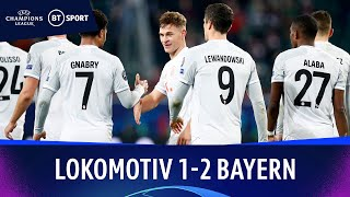 Lokomotiv Moscow v Bayern Munich (1-2) | Champions League Highlights