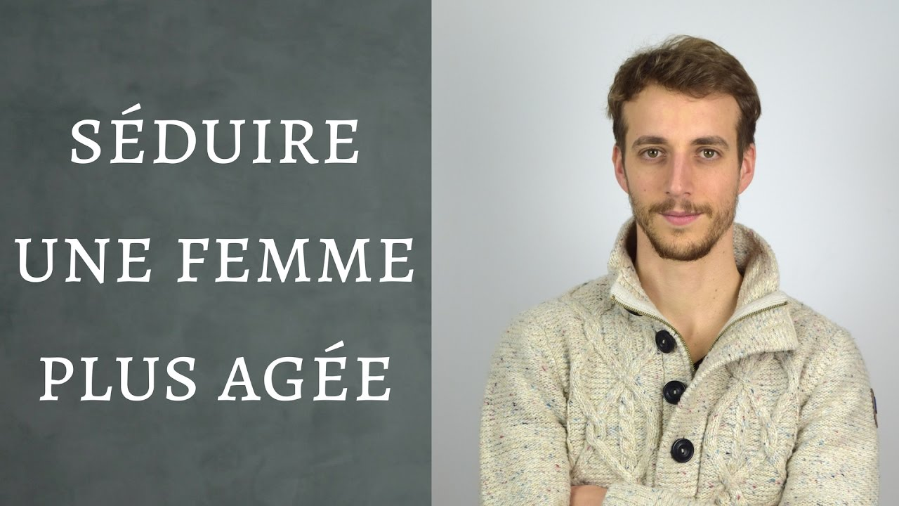 draguer femme plus agee