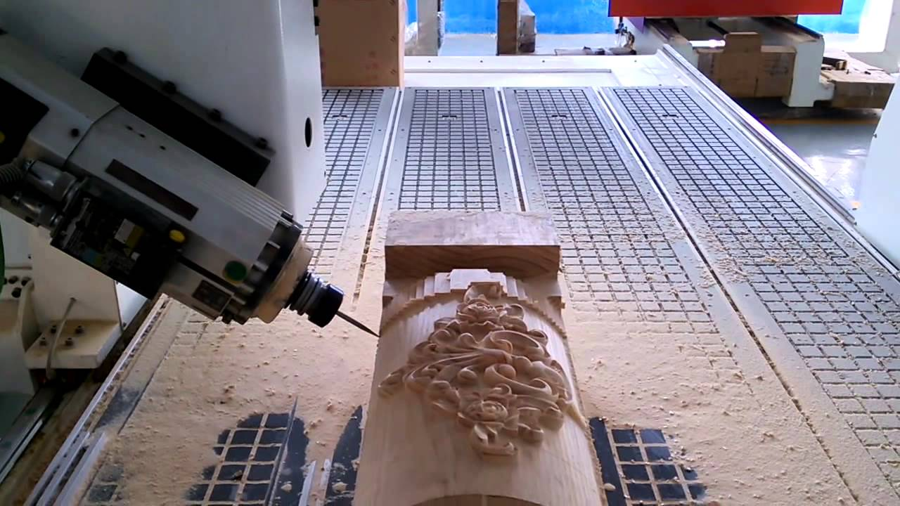 4 axis cnc router machine for wood mold furniture industry - youtube