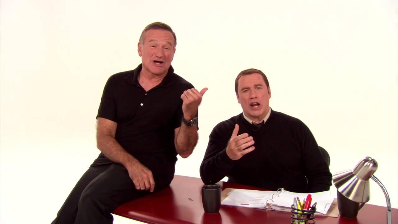 Old Dogs Robin Williams John Travolta Holiday Greeting Youtube