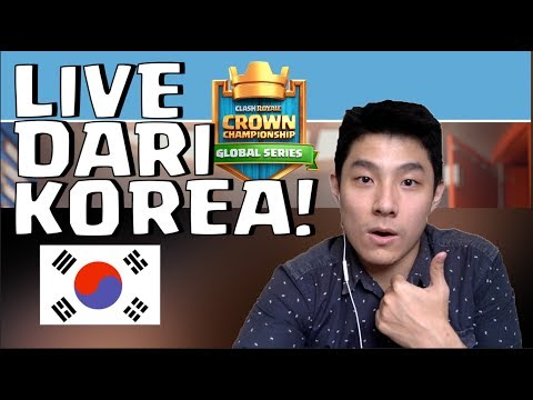 TOURNAMENT CLASH ROYALE ASIA LIVE DARI KOREA! - DAY 2