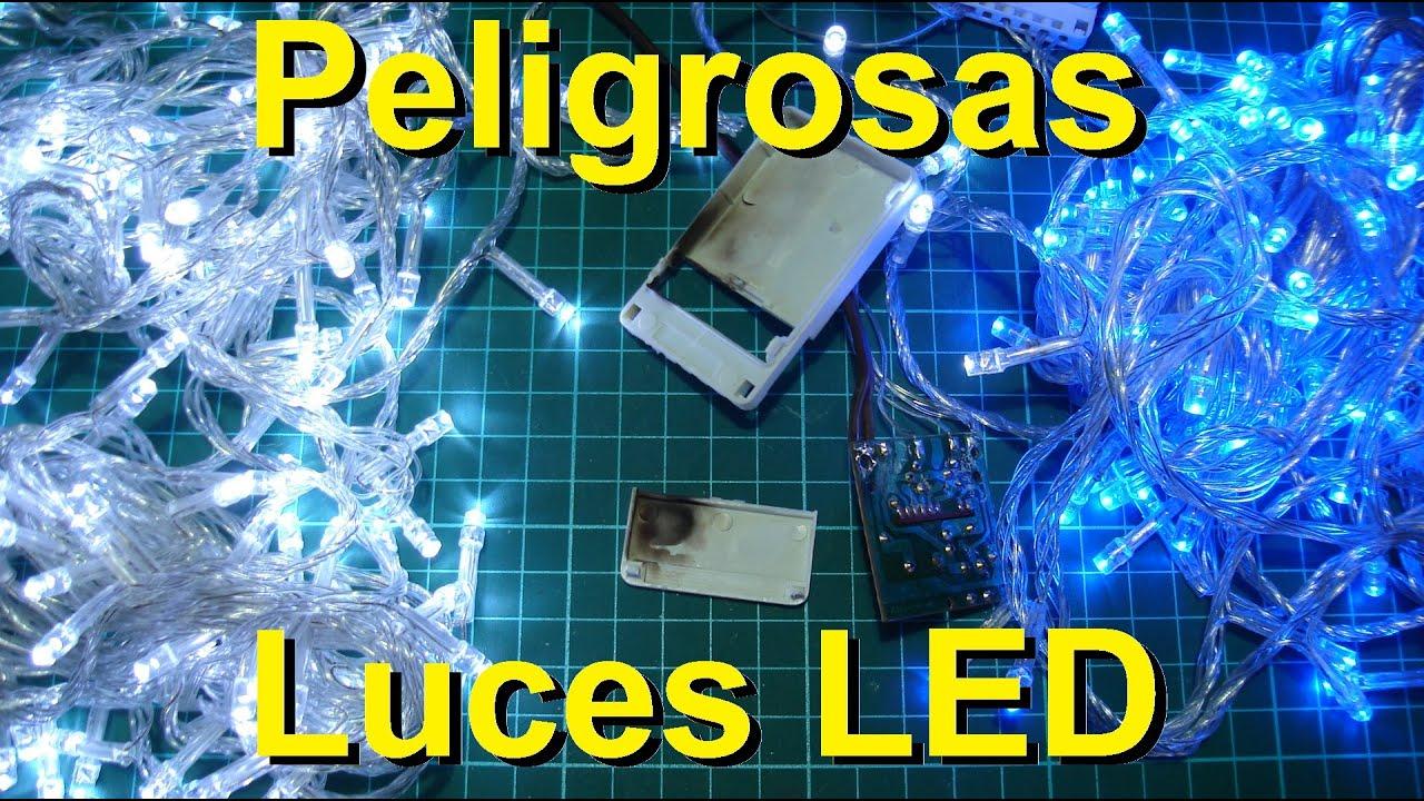 Peligrosas luces led de navidad youtube - Luces arbol de navidad ...