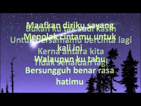 Iklim - Bukan Ku Tak Sudi (lirik)