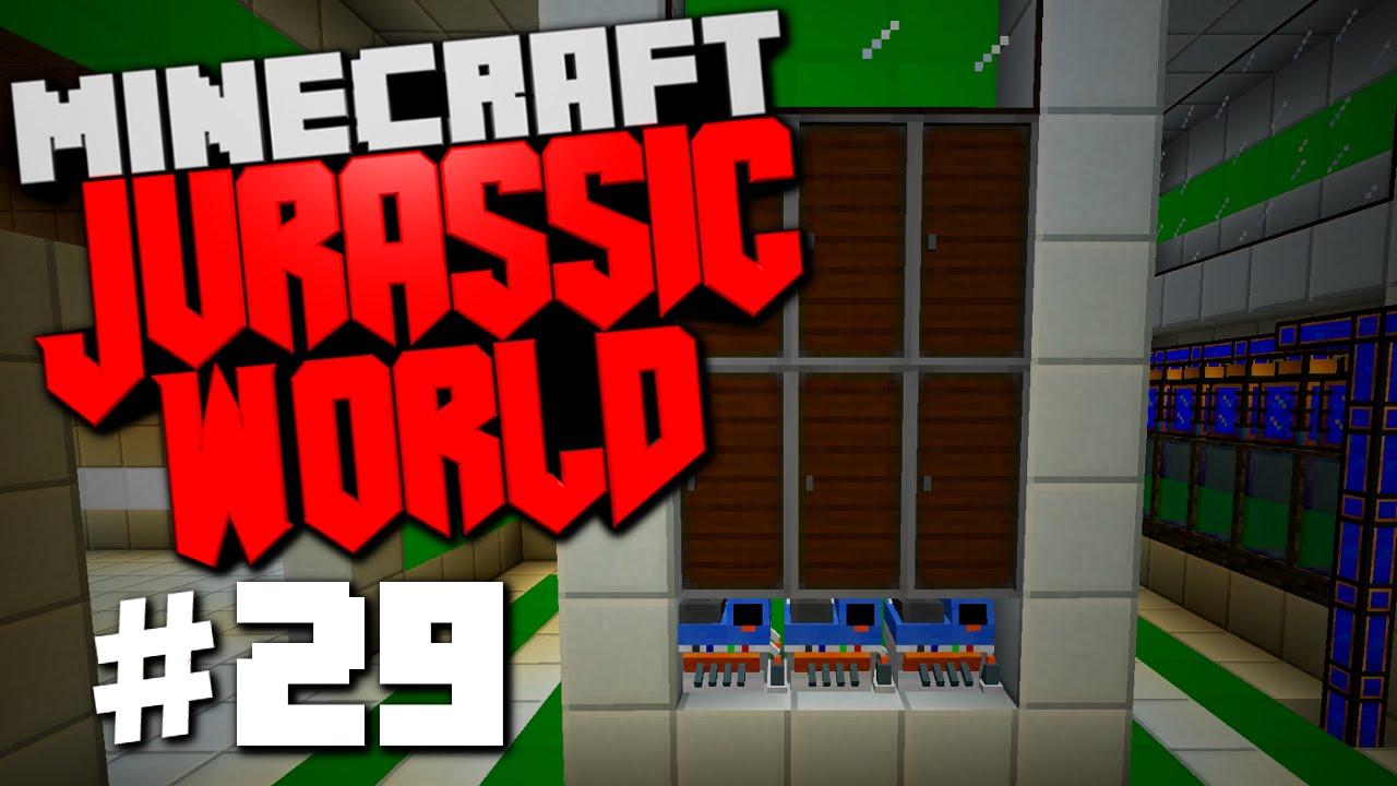 Jurassic World | Minecraft Rexxit Modpack #29