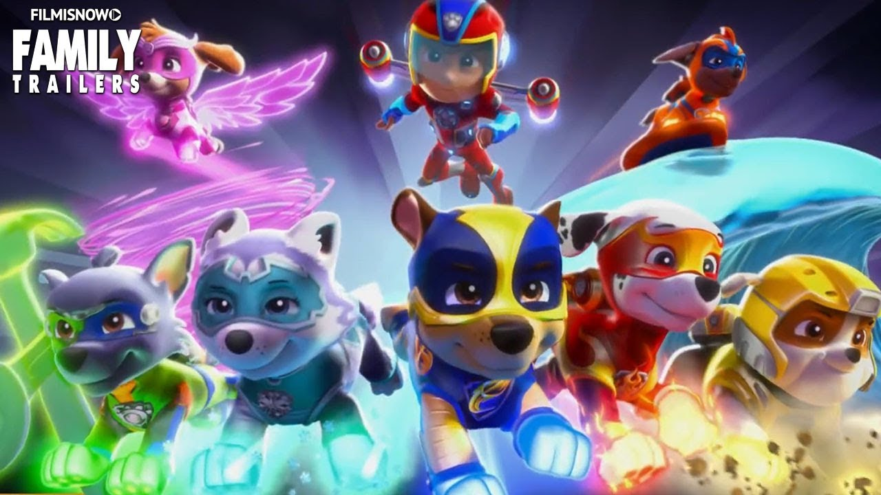 PAW PATROL MIGHTY PUPS Trailer Embark on the biggest
