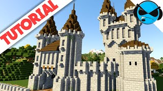 How To Build A Castle Minecraft Tutorial Medieval Castle Part 2 YouTube