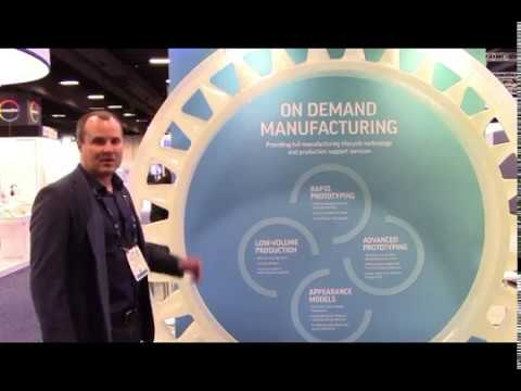 3D Systems at RAPID+TCT: Investment Casting Pattern