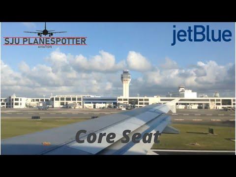 jetBlue A320-232 San Juan to Orlando
