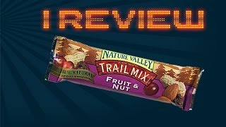 I Review Nature Valley's Trail Mix Chewy Granola Bar