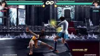 Tekken Tag 2 Prologue (TekkenHybrid) Combo Video
