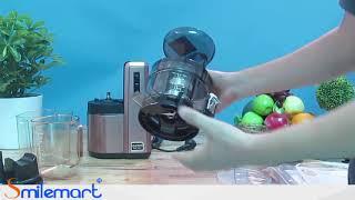 Giới thiệu và hướng dẫn sử dụng Máy Ép Trái Cây Hurom HZ-LBE17