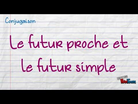 Le futur proche et le futur simple - YouTube 6d654057d346