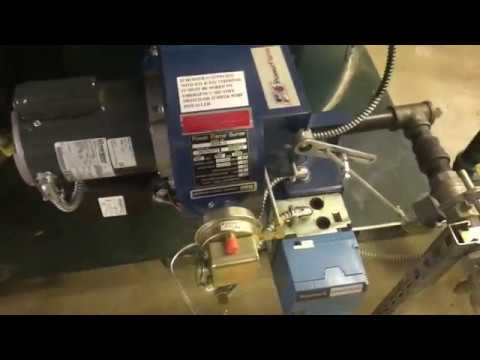 Columbia CT 50HP High Pressure steam boiler - YouTube