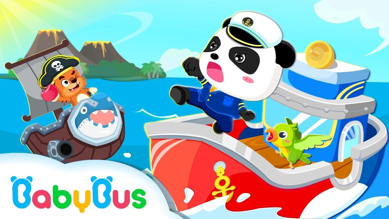 寶寶小船長 | 兒童教育遊戲 | 官方預告視頻 | 寶寶巴士 - YouTube